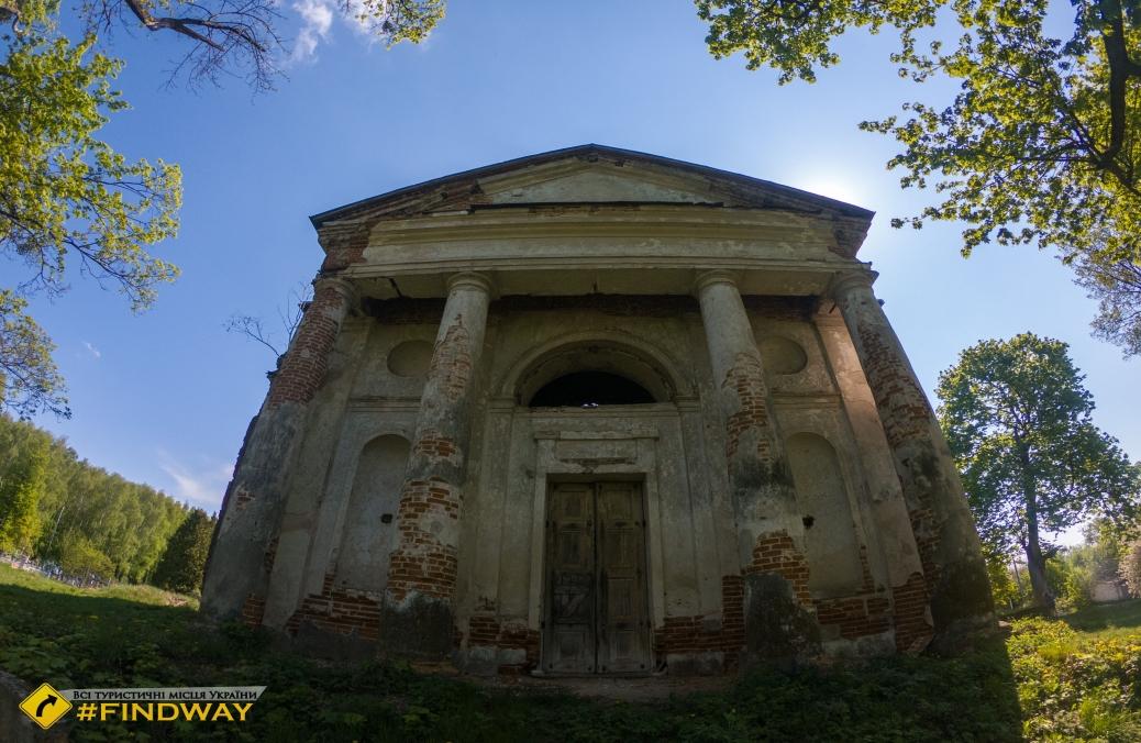 Holy Trinity Church (1787), Bigach