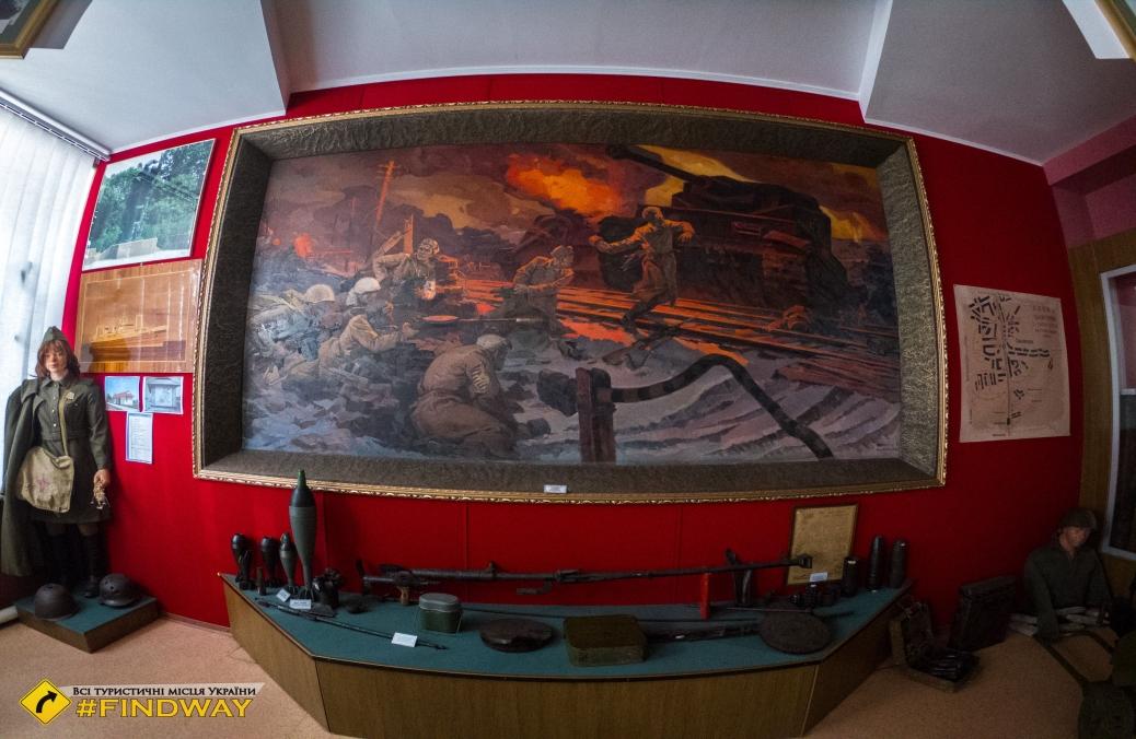 Museum of Military Glory of Shironin Guards, Taranivka