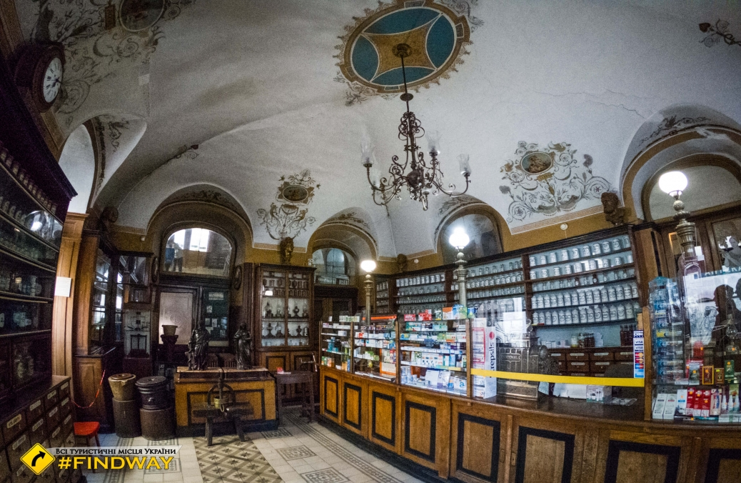 Аптека-музей на Площі ринок, Львів
