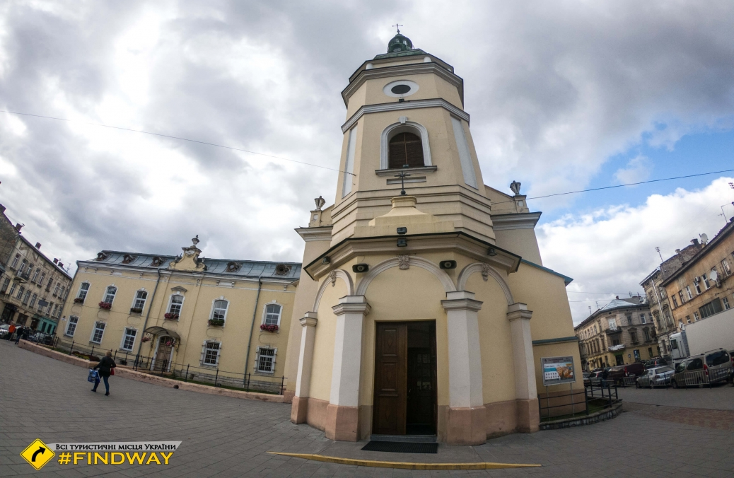Church of St.Anne, Lviv