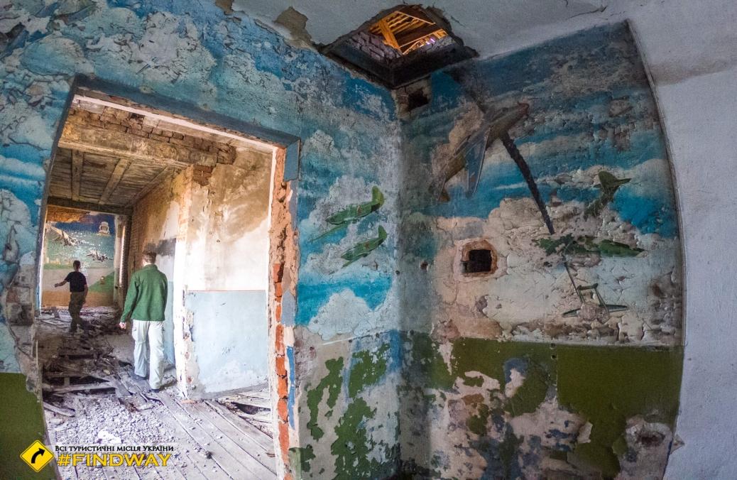 Покинуте льотне училище, Вовчанськ