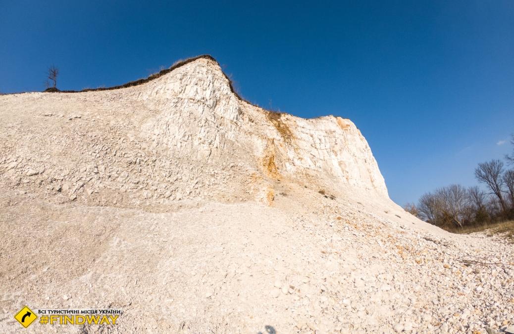 Cretaceous hills, Vovchansk