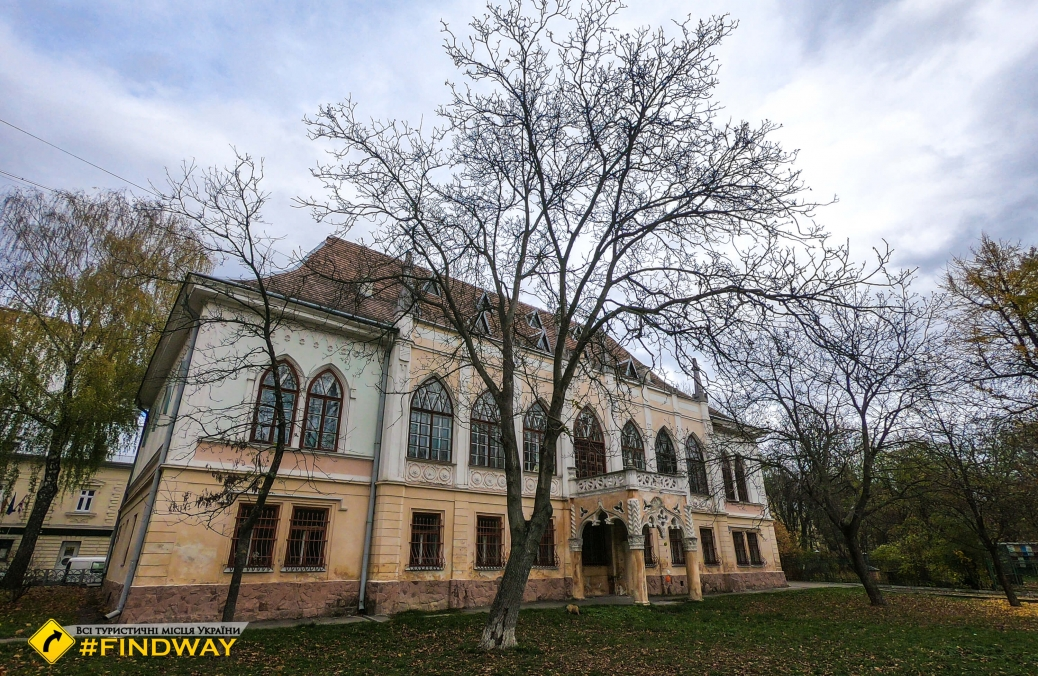 Turkuul-Comello Palace, Lviv