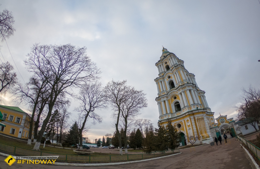Observation deck of monastery bell tower, Chernihiv