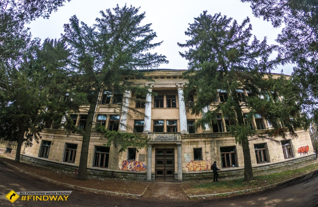 Abandoned Institute of Livestock Mechanization, Zaporizhzhia