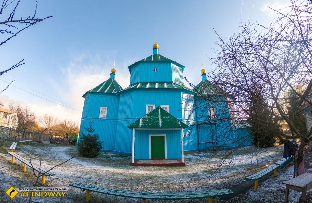 Свято-Введенська дерев'яна церква, Введенка