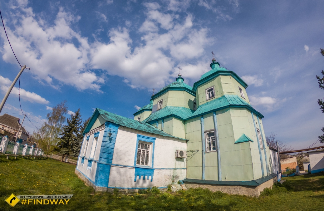Mykolaiv wooden church (1753), Vilshany