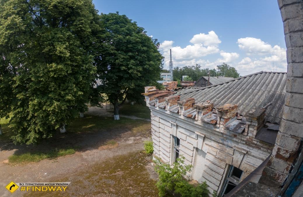Заброшенная усадьба Зборомирских, Старое Село