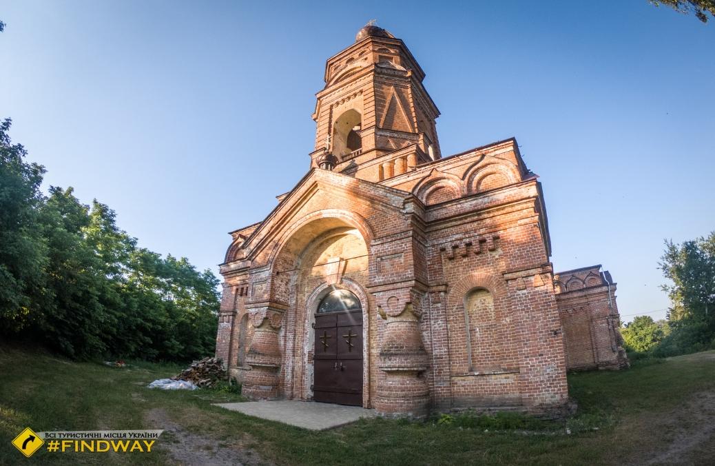 Николаевская церковь (1892г), Червленое