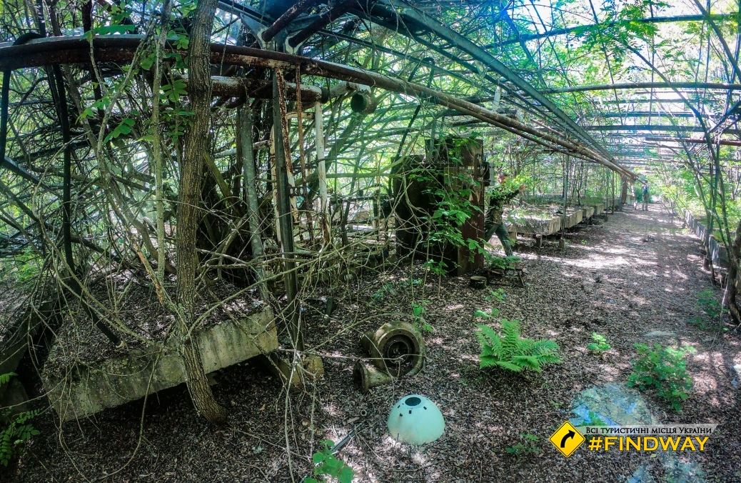 Experimental greenhouse farm, Pripyat