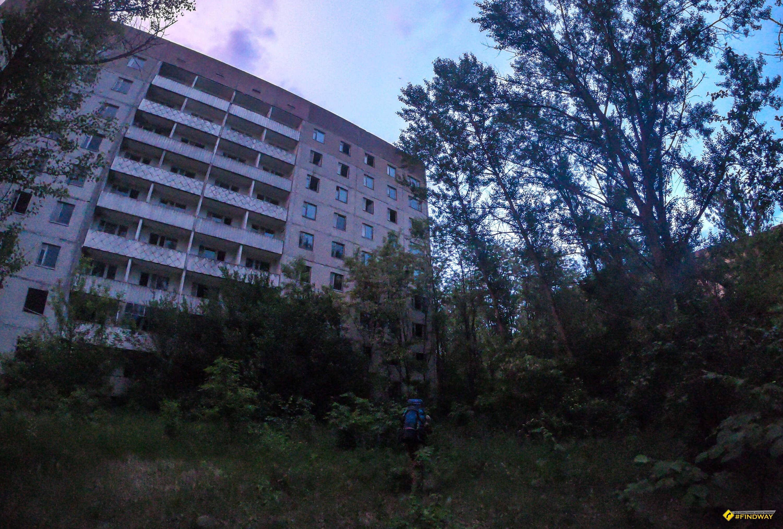 Місто-привид Прип'ять, Чорнобильська зона відчуження