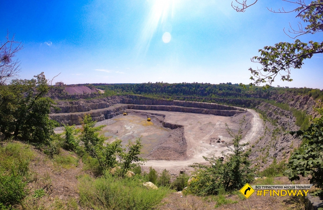 Bila Tserkva granite quarry
