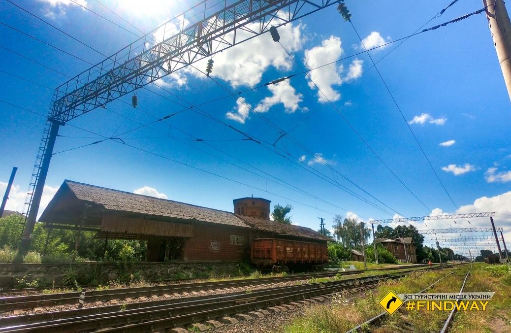 Железнодорожная станция Клевань