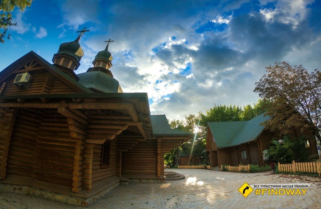 Wooden church of All Saints Cathedral of Resurrection, Kyiv