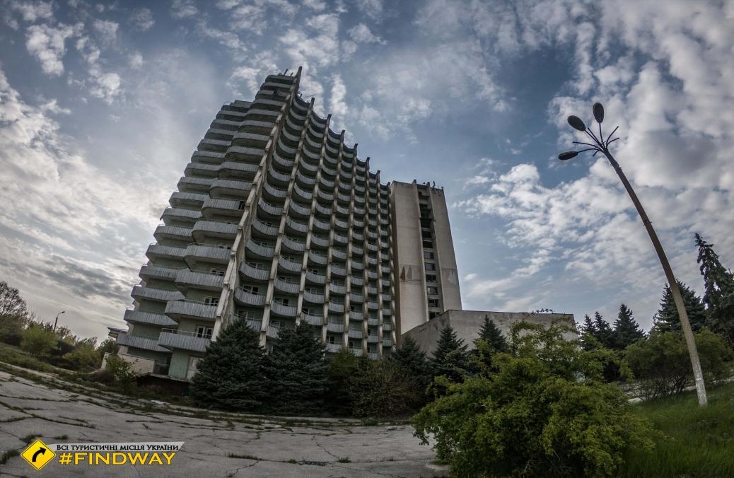 Abandoned Hotel «Pivdenna», Sergiyivka