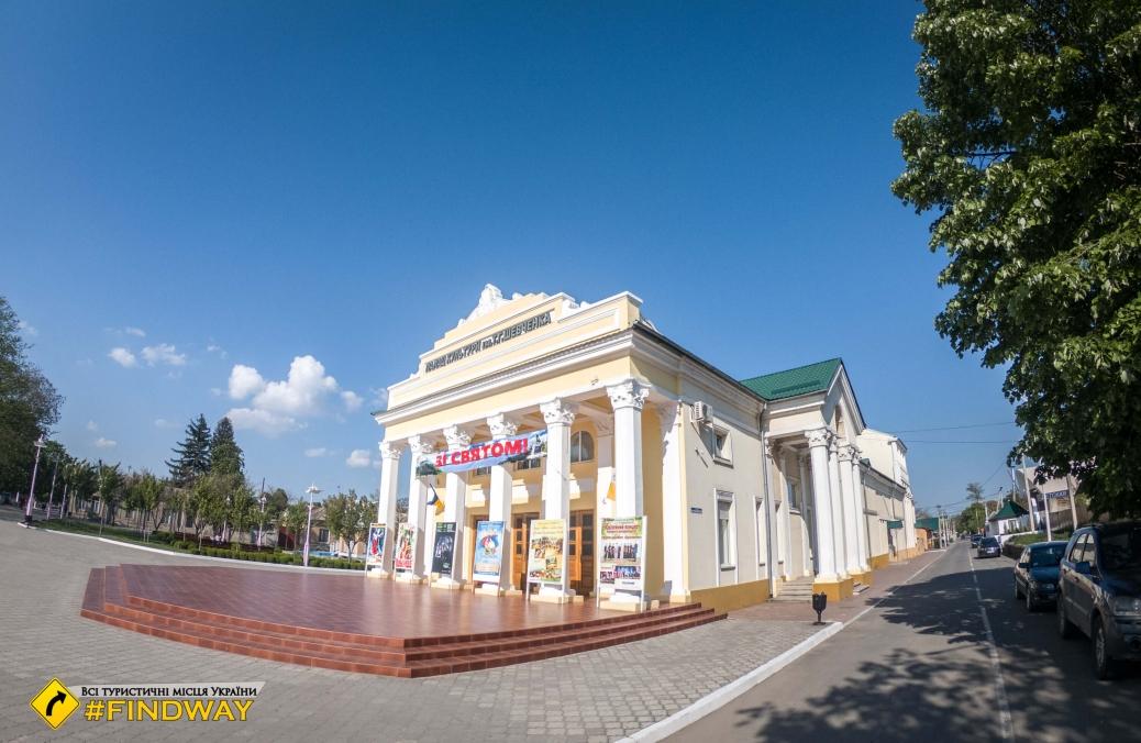 Театр Шевченко, Измаил