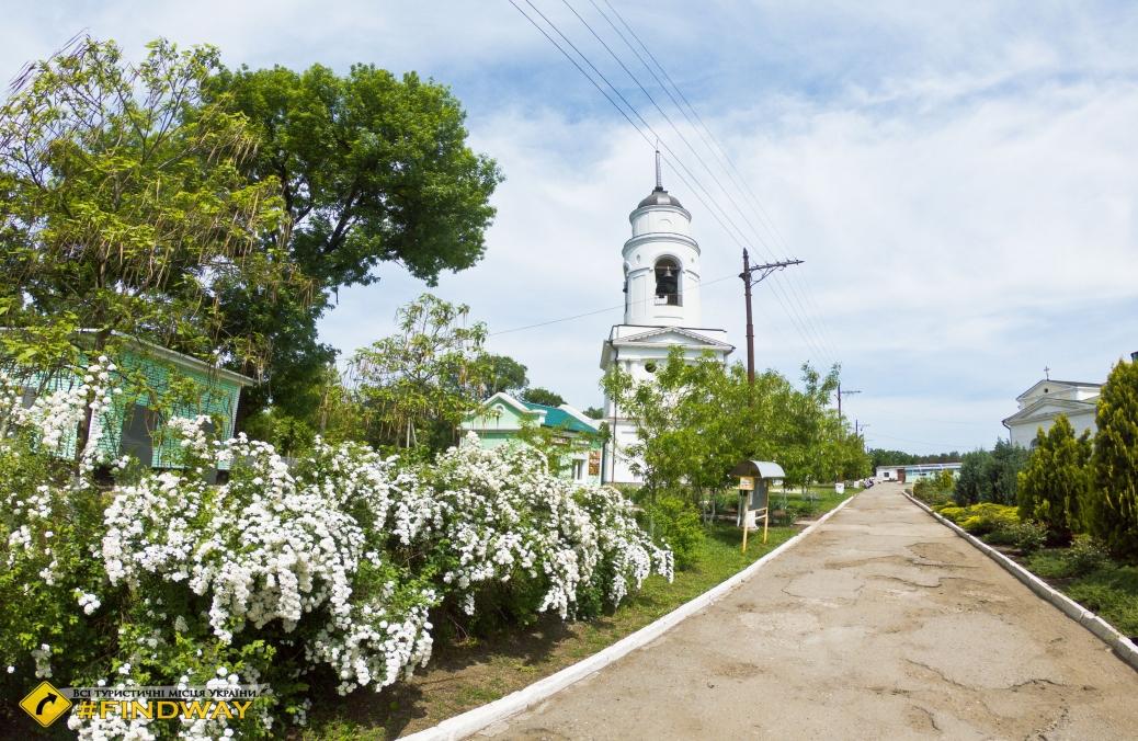 Николаевский пустынный монастырь, Новомосковск