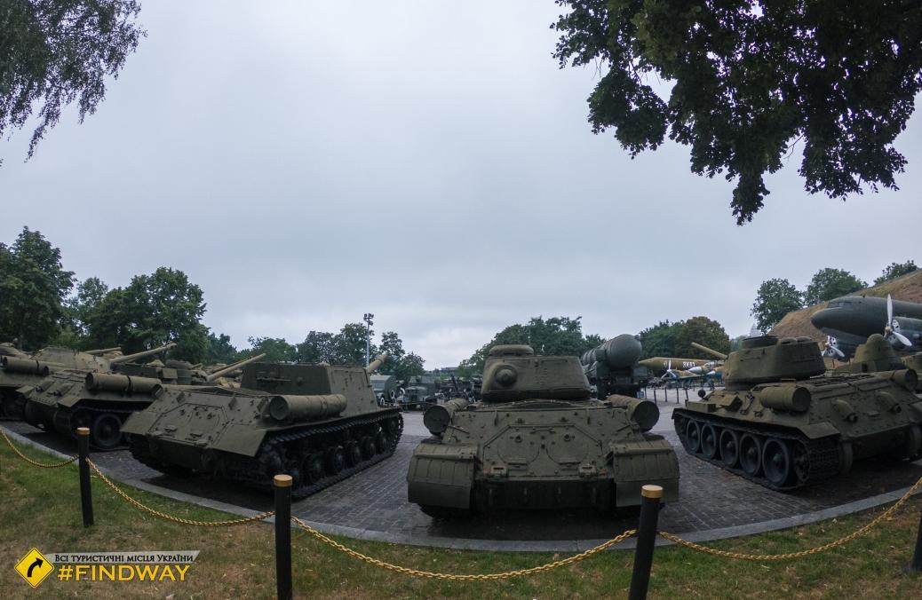 Музей военной техники под открытым небом, Киев