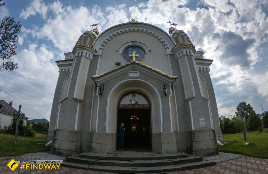 Церковь Святого Николая, Тухля