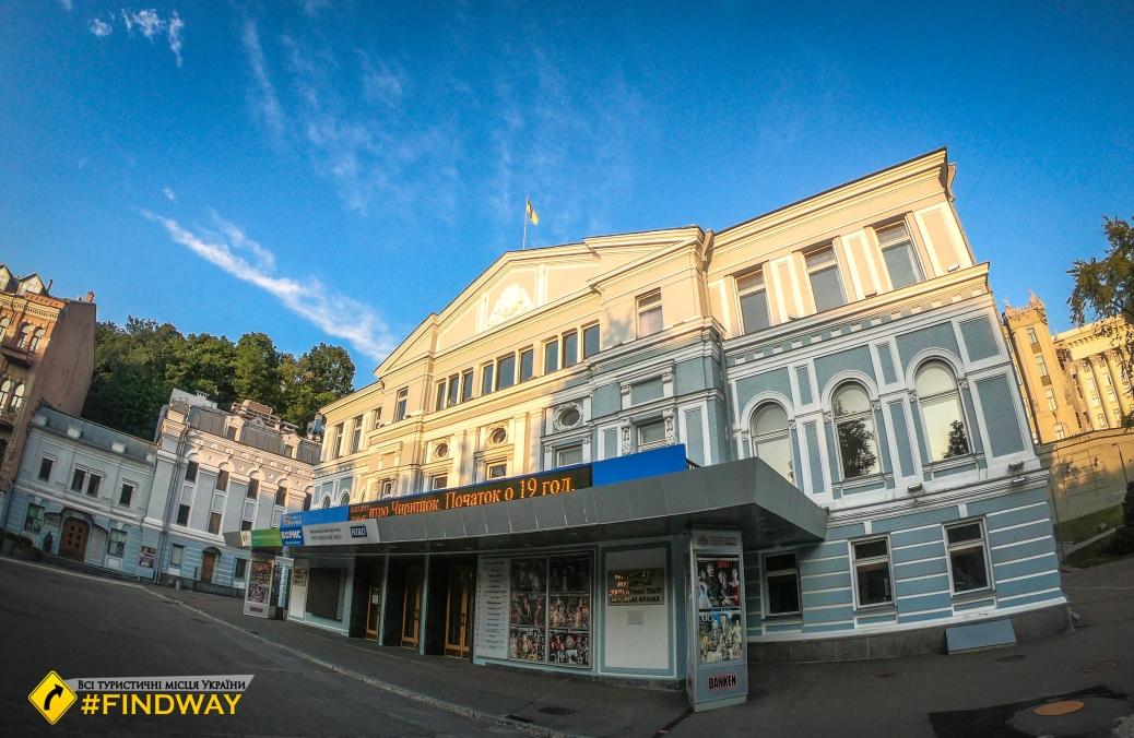 Franco National Academic Theater, Kyiv