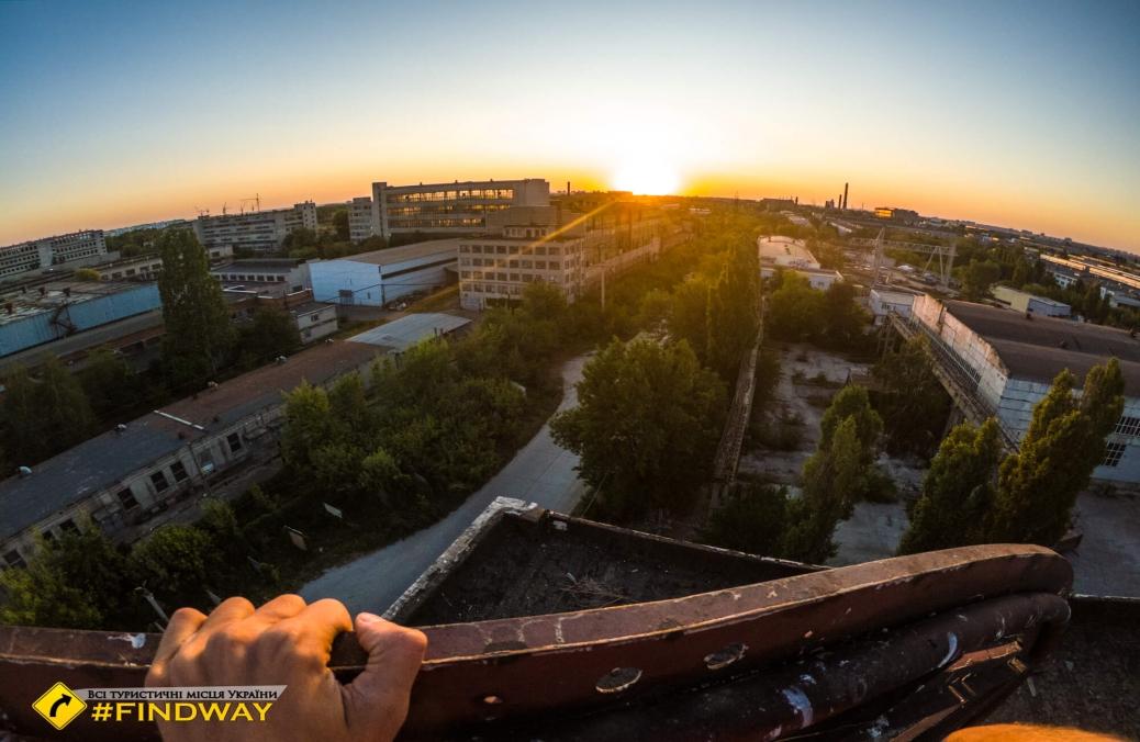 Покинута будівля ДСК-1, Харків