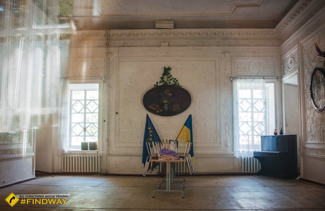 Palace of Count Rumyantsev-Zadounaisky, Vyshenka