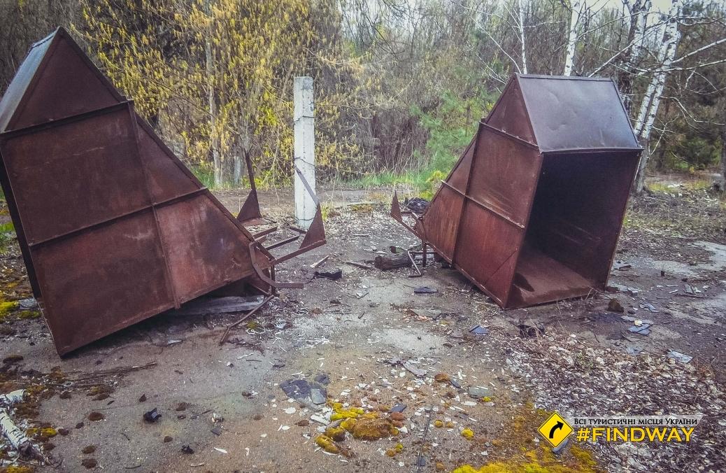Заброшенное село Вильча, ЧЗО
