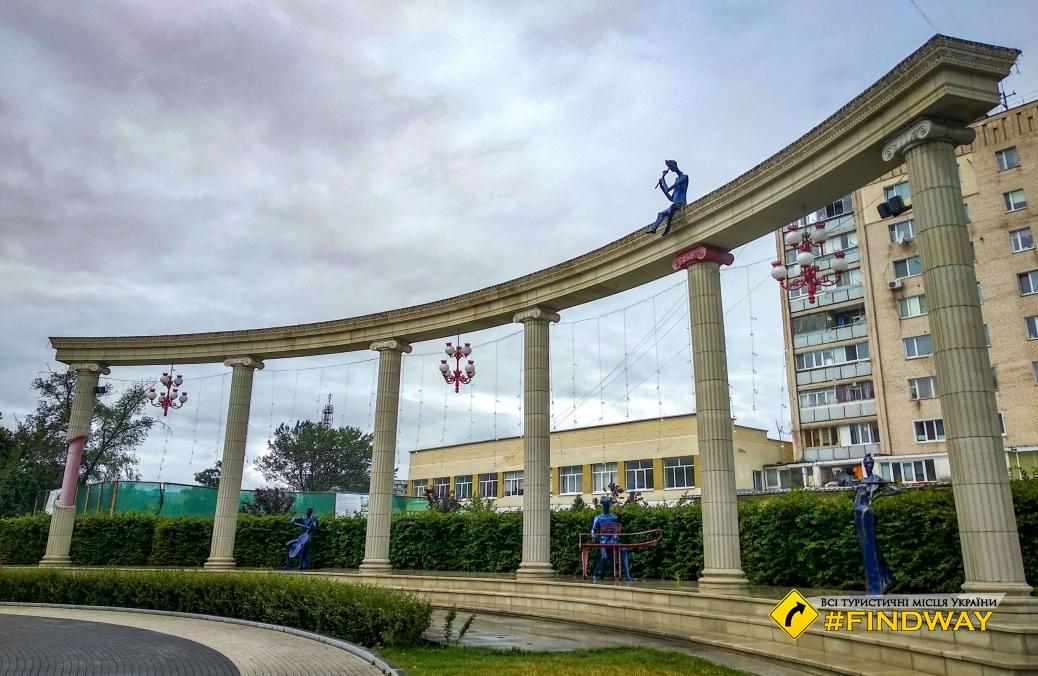 Аллея Шевченко, Ірпінь