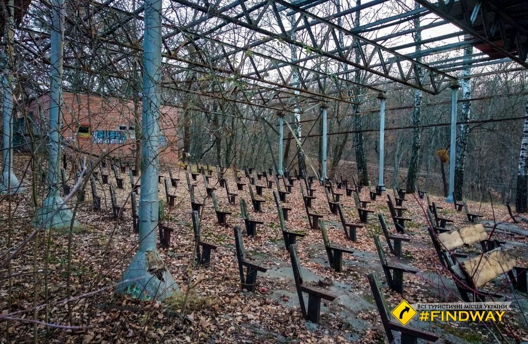 "Abandoned children's camp ""Friendship"", Pivdenne"
