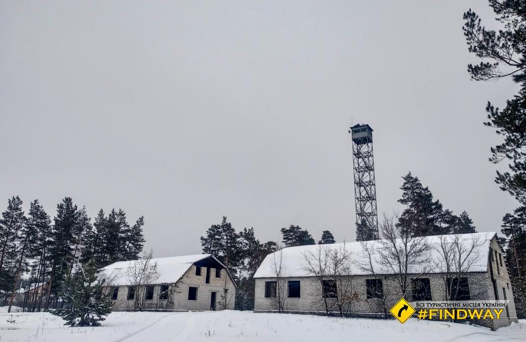 Пожежна оглядова вишка, Святогірськ