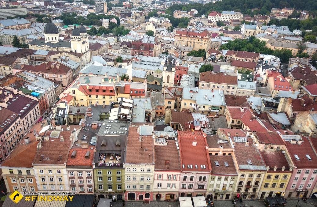 Старый город, Львов