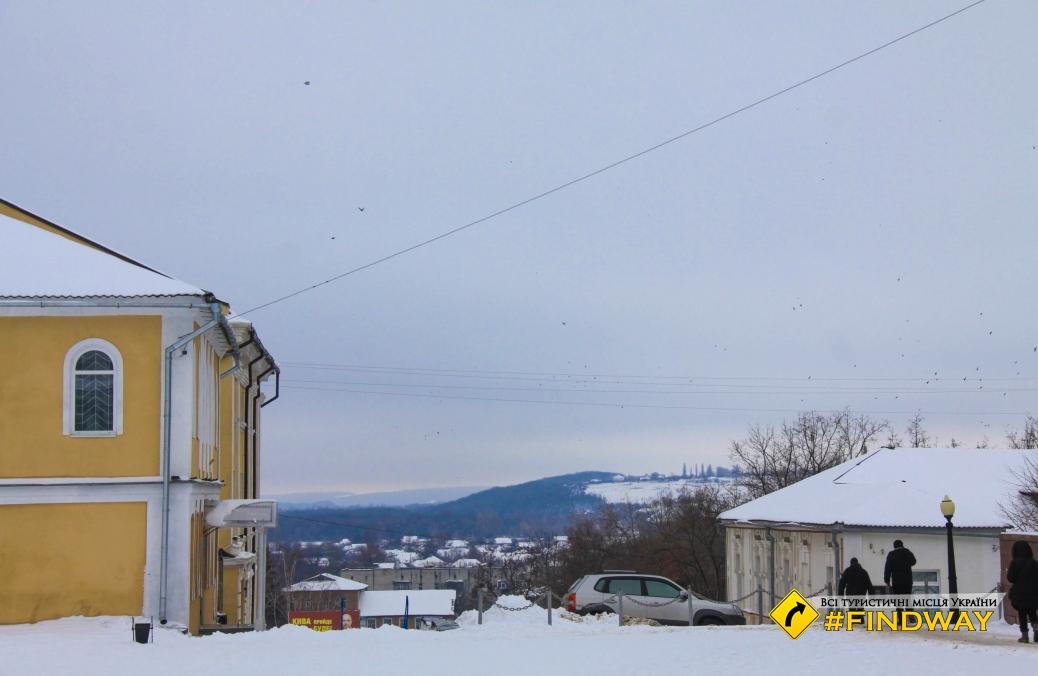 Central Square and observation deck, Kupyansk