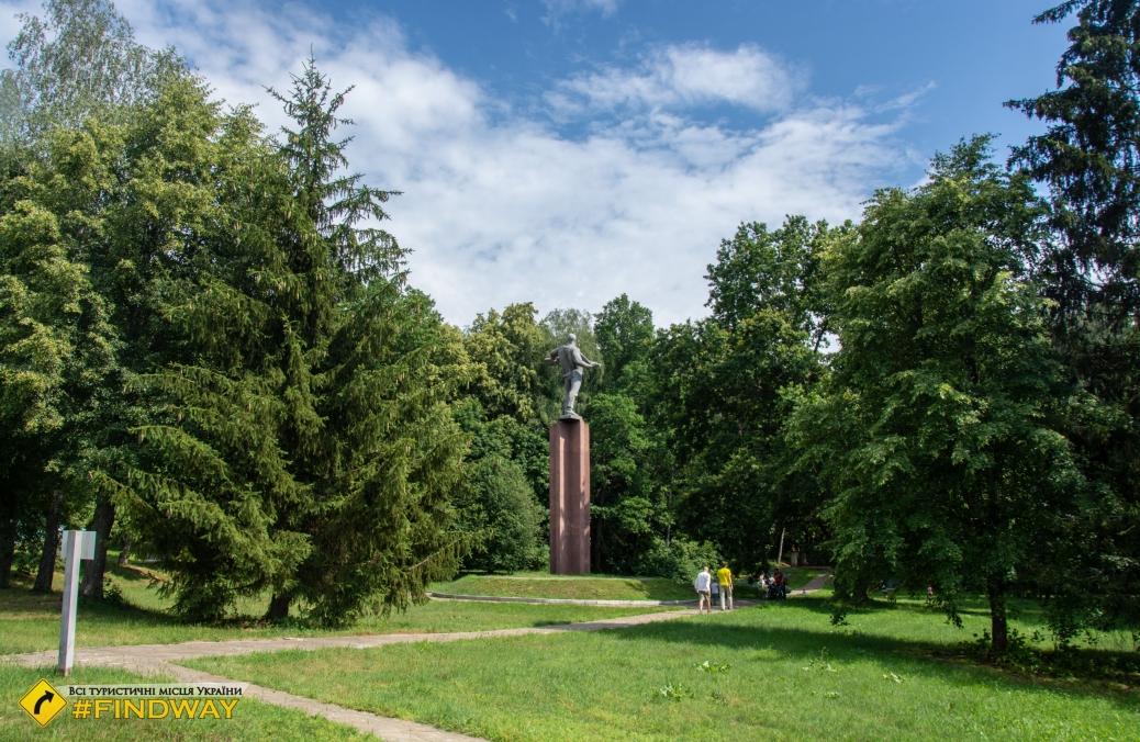 Спадщанский лес, Путивль