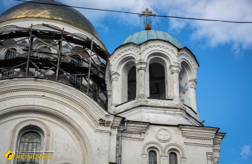 Three-Anastasia Cathedral (1884), Hlukhiv