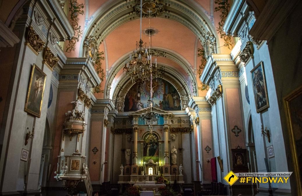 Кафедральний костел Святої Софії, Житомир