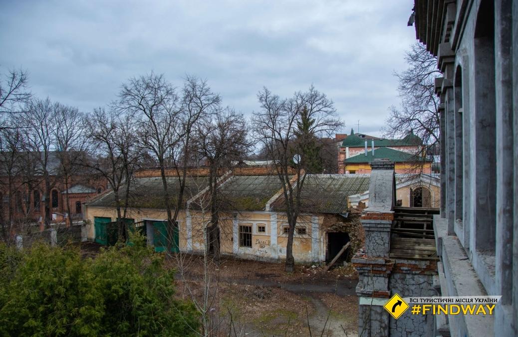 "Abandoned ""Lower Wall"" of Mykolaiv Novopecherskie defense fortress, Kyiv"