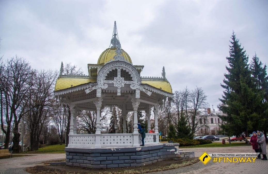 Altanka (Symbol of city), Kharitonenko Park, Sumy