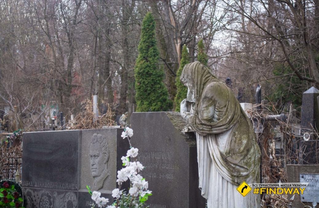 Байкове кладовище (Байковий некрополь), Київ