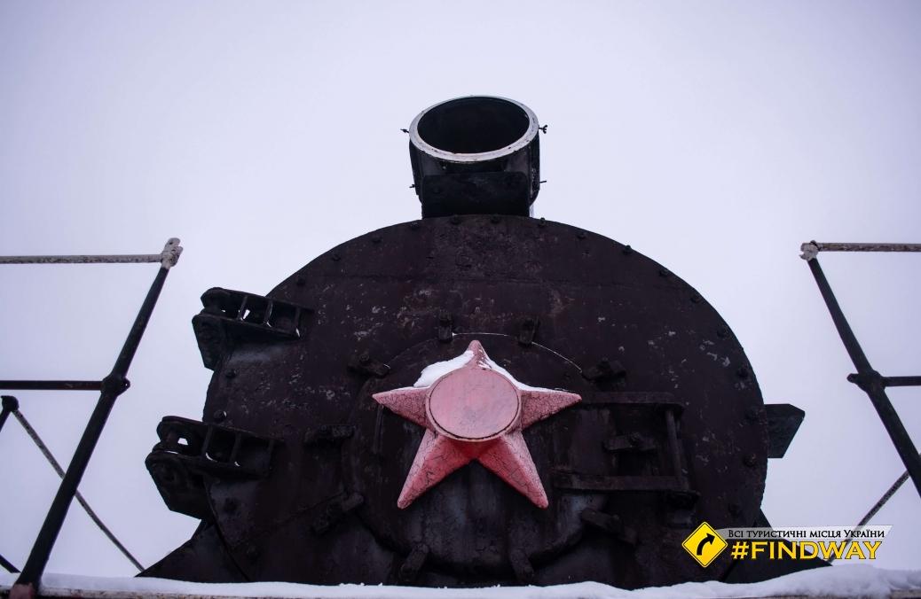 Monument to warriors-railwaymen, Bakhmach