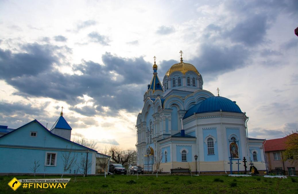 Святовоскресенська церковь, Острог