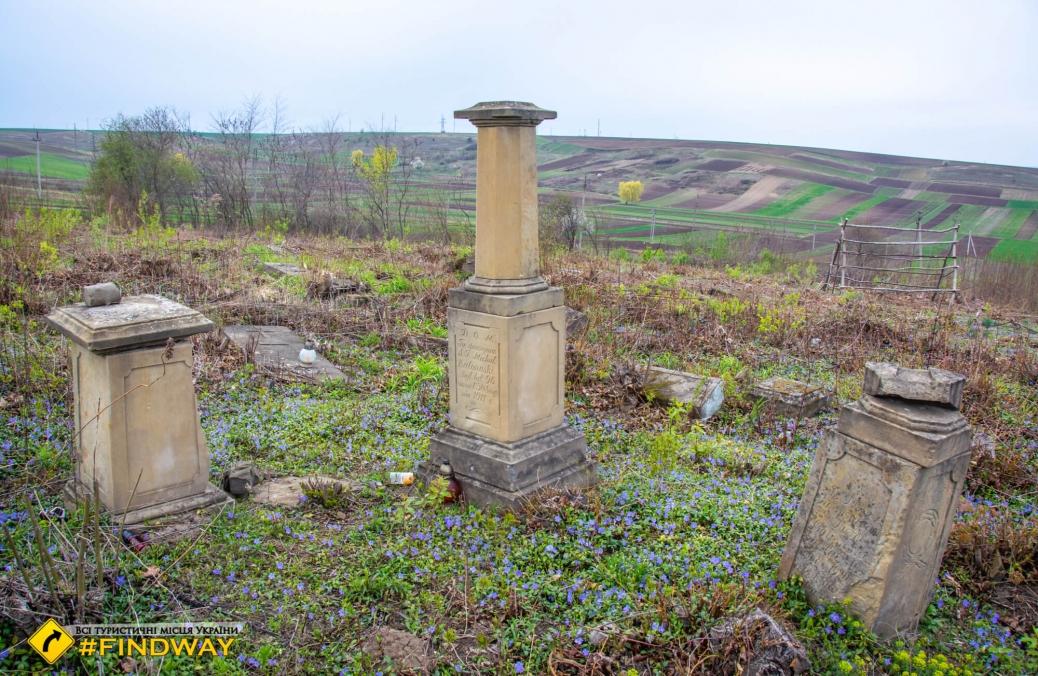 Старий католицький цвинтар, Острог