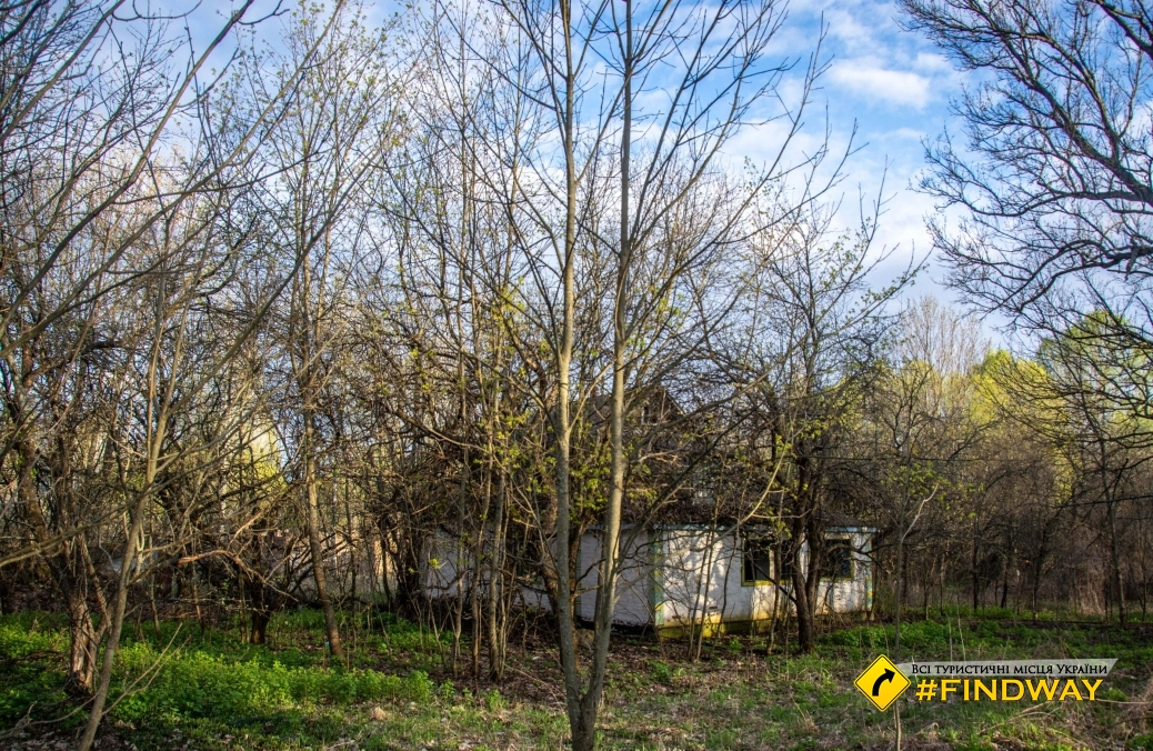 "The abandoned village ""Tovstiy Lys"", Chornobyl Exclusion Zone"