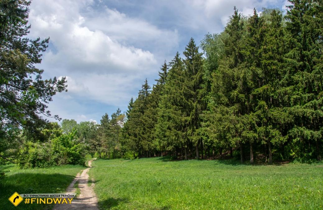 Poltava city park