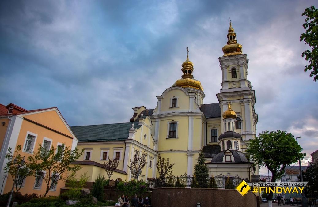 Holy Transfiguration Cathedral, Vinnytsia