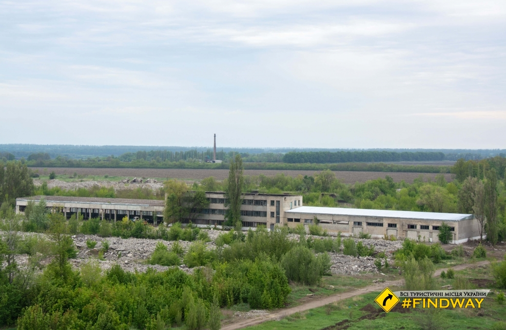 The ruins of Pervomaisky Chemical Plant
