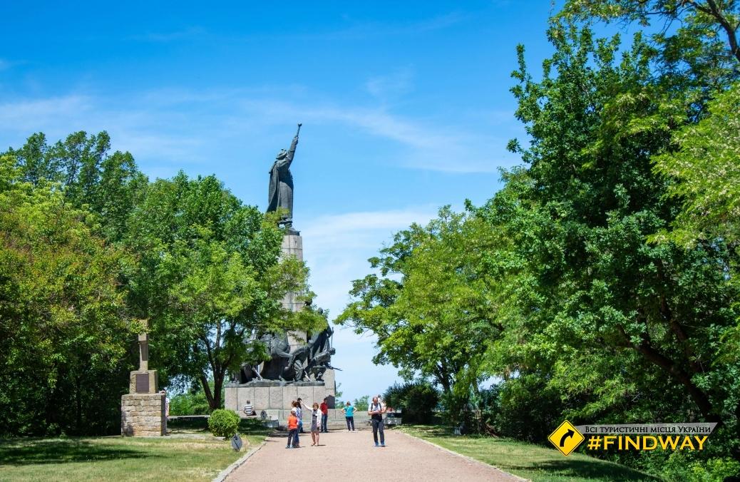 Памятник Богдану Хмельницкому, Замковая гора, Чигирин