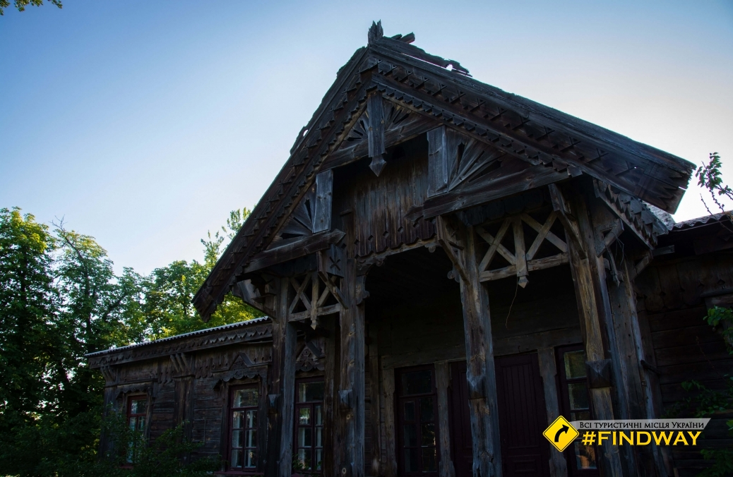 Дом врача В. Городецкого, Мошны