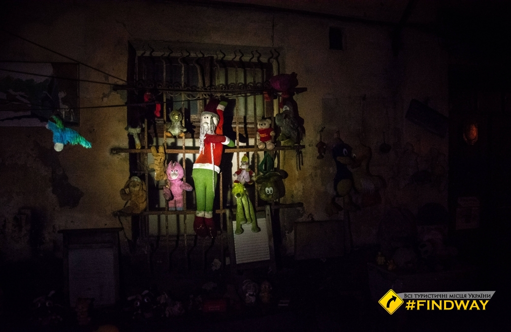 Yard of lost toys, Lviv