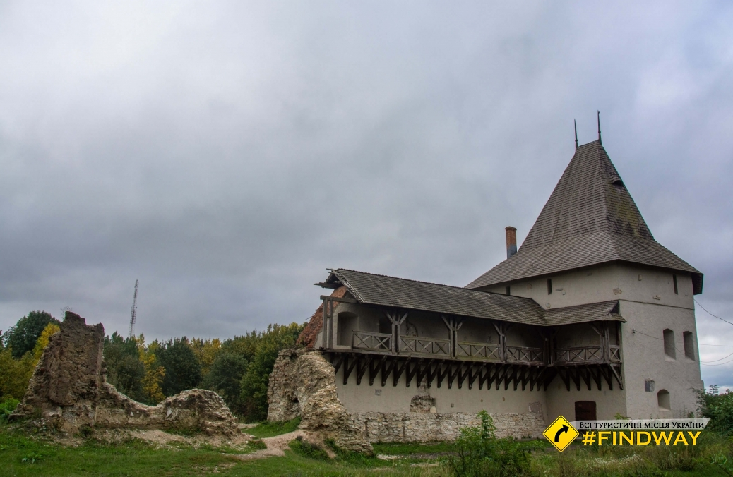 Remains of Galich castle (Starostinskiy castle), Zamkova hora, Christ