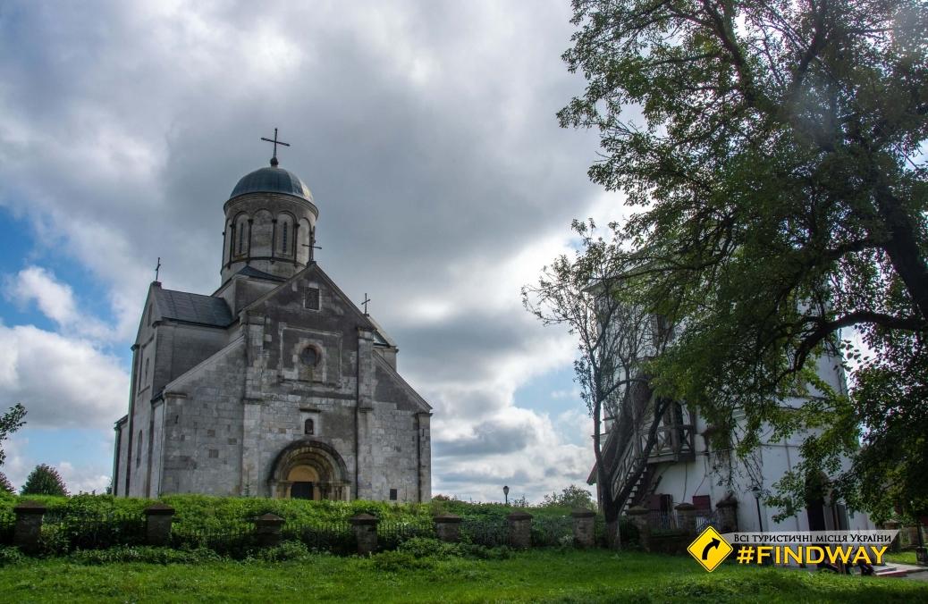 Temple of St. Panteleimon (12th Century church), Halych (Shevchenkovo)